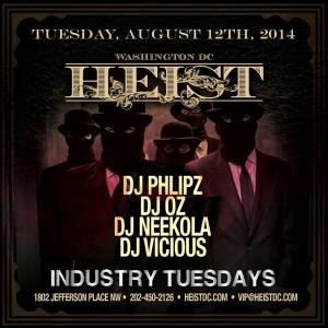 Heist Tuesdays