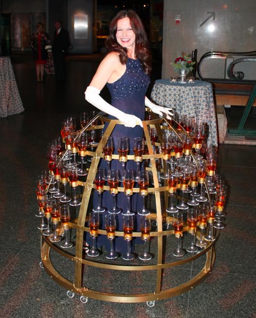 Champagne skirt 2