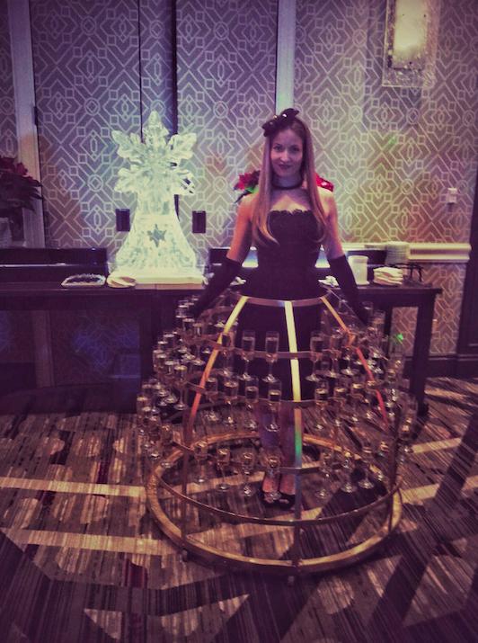 Champagne skirt 3